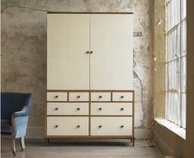淡雅自然简约风格衣柜效果图设计