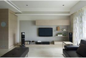 宜家风格电视背景墙设计图片