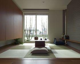 日式休闲雅致榻榻米设计装潢