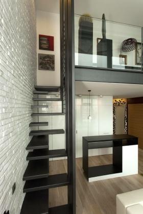 混搭风格楼梯装修案例