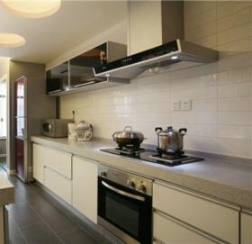 灰色混搭风格厨房装饰设计
