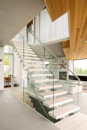 创意自然简约风格楼梯赏析