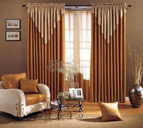 混搭风格窗帘图片欣赏