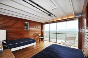 休闲混搭风格卧室吊顶装修美图