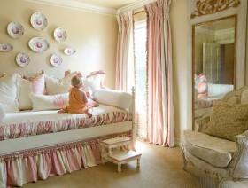 可爱甜美田园风格儿童房设计欣赏