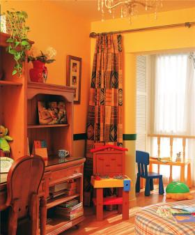 创意时尚混搭儿童房设计赏析
