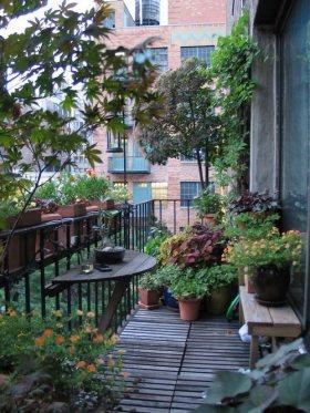 自然风格简约风格阳台装修设计