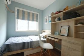 蓝色温馨宜家风格儿童房装饰案例
