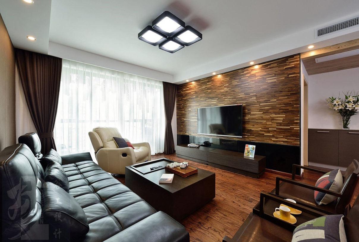 2016美式雅致风格客厅设计案例