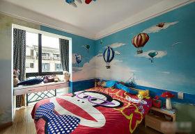 现代风格儿童房装修效果图片