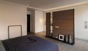 古朴素雅新古典风格卧室隔断设计图