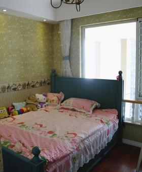 温馨雅致绿色田园儿童房装修案例