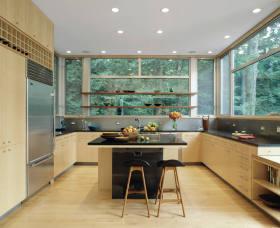 沉稳大气美式风格厨房设计装潢