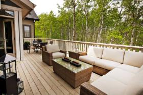 舒适自然休闲混搭风格阳台装潢