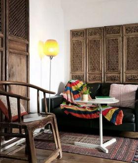 中式风格古典客厅装潢案例