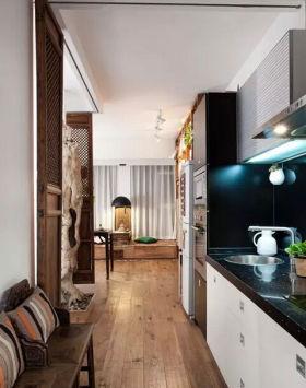 质朴素雅2016中式风格厨房设计