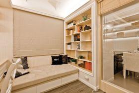 简约风格米色书房装修布置