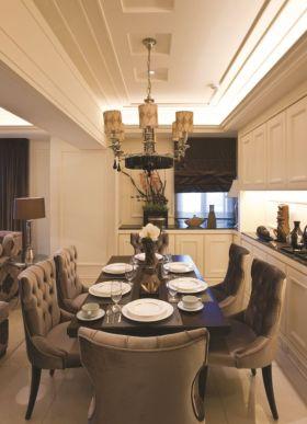 精美低奢简欧风格餐厅装饰设计图片