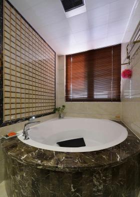 中式雅致卫生间效果图设计