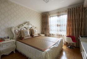 欧式风格卧室窗帘设计图