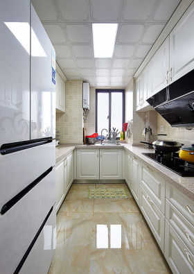 混搭风格厨房橱柜装修图片