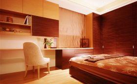 橙色卧室装潢案例