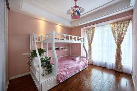 美式风格粉色儿童房设计欣赏