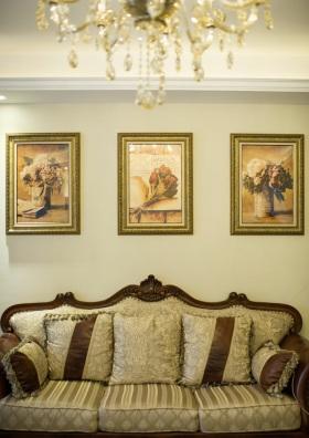 华丽精致优雅欧式照片墙美图