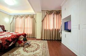 浪漫精致时尚现代风格卧室窗帘图片赏析