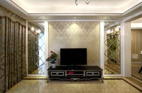 雅致时尚新古典风格背景墙图片