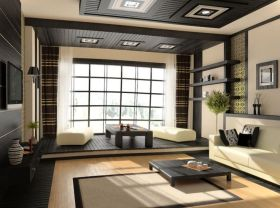 质朴现代风格榻榻米装潢设计