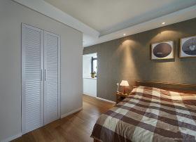 优雅清新现代风格卧室衣柜效果图