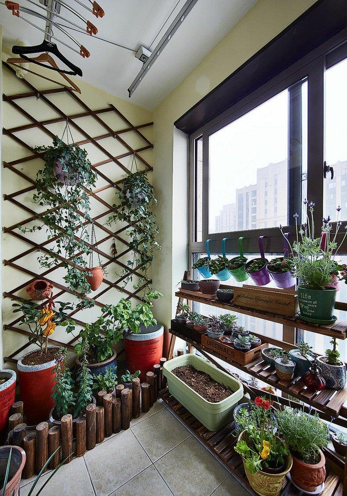 2016现代风格阳台装修设计图