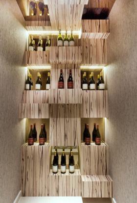 精致创意时尚现代风格酒柜装潢案例