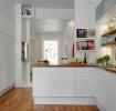 白色现代风格厨房橱柜装修欣赏