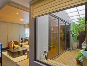 简约风格质朴休闲阳台装修布置