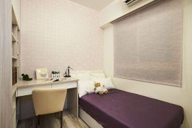 紫色温馨唯美浪漫现代风格卧室美图