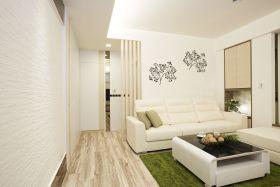 简约风格白色客厅沙发效果图