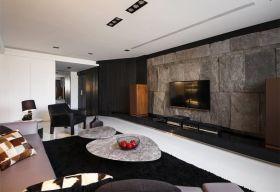 现代风格灰色大理石背景墙设计赏析
