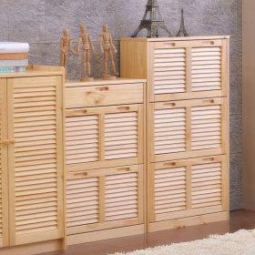 简约风格原木色鞋柜装潢设计