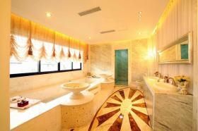 温馨黄色欧式卫生间装修