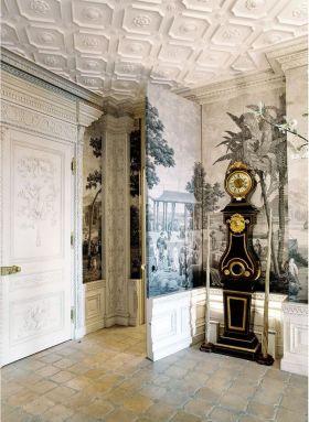 米色欧式风格玄关装饰设计案例