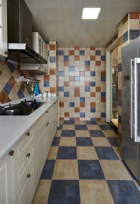 清新舒适田园风格厨房装修案例