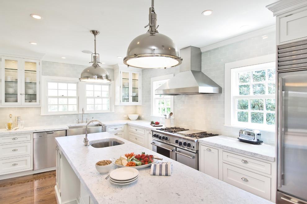 时尚白色欧式风格厨房装修图