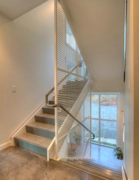 混搭风格时尚楼梯装饰设计图片