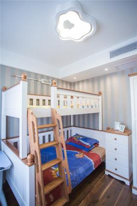 浪漫雅致美式儿童房装修效果图片