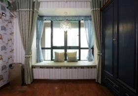 混搭风格卧室飘窗装修效果图