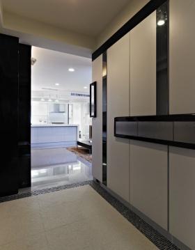 淡雅简约风格实用收纳柜设计装潢