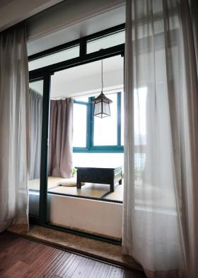 自然禅意米色现代风格飘窗装修图