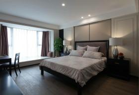 现代风格米色时尚卧室赏析